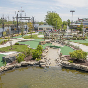 Riverwalk Mini Golf is now OPEN!