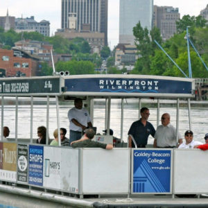 Who's Ready To Ride The River Taxi?